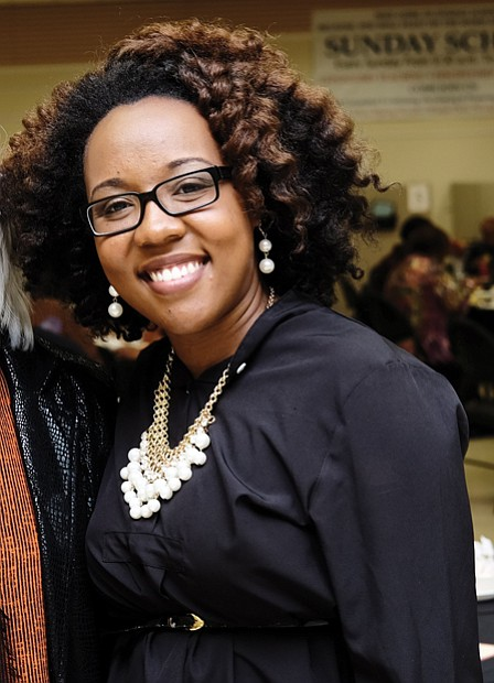 The Rev. Torlecia Bates, who spoke at last Saturday's event at Second Baptist Church in South Side, is a descendant of Nat Turner. Her father is a member of the George Wythe High School Class of 1974.