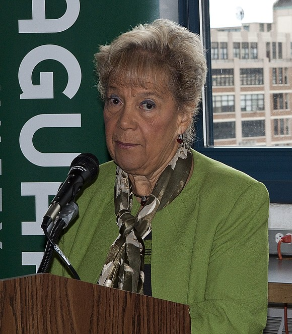Former Queens Borough President Helen Marshall has died.