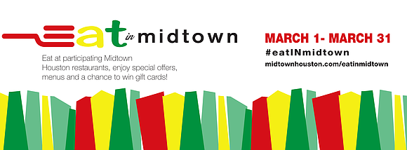 On March 1, Midtown Houston kicked off eat IN midtown, a month-long culinary event offering residents a taste of the ...