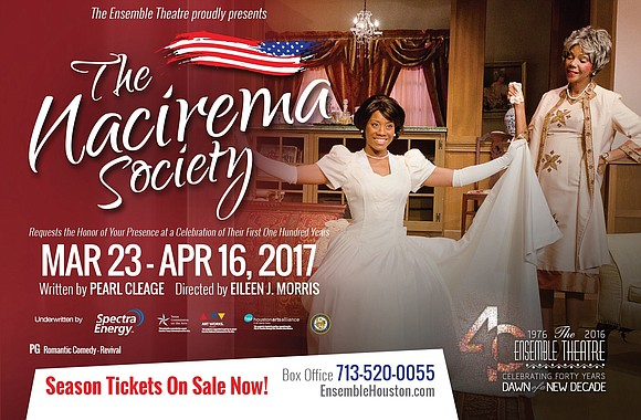 The Ensemble Theatre kicks off its 40th Anniversary Season audience choice, The Nacirema Society Requests the Honor of your Presence ...