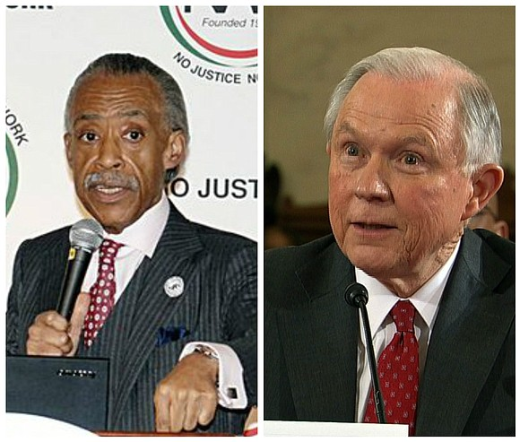 Rev. Al Sharpton and Attorney General Jeff Sessions met on Tuesday along with other leading civil rights leaders to discuss ...