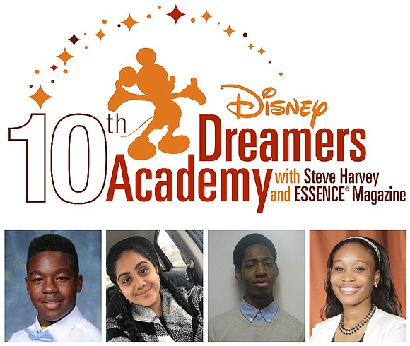 Four local area high school students are preparing for the 10th Annual Disney Dreamers Academy with Steve Harvey and ESSENCE ...