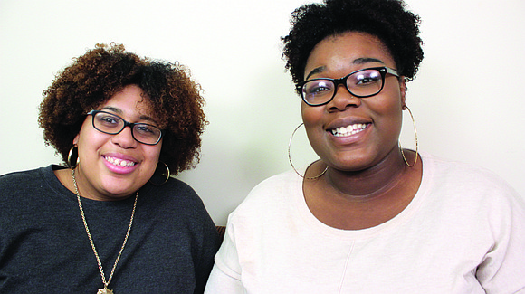 McDaniel College students, Kylah Chadwick and Khadijah Poston, have organized a natural hair curl conference at the school on Sunday, ...