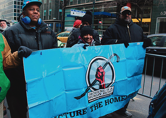 It's only a coincidence that it was freezing Monday afternoon when community activists and clergymen gathered outside of New York ...