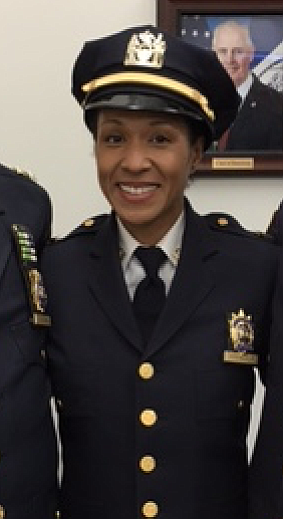 Tania Kinsella stands out among the NYPD not only being a so-called minority in the police force but also for ...