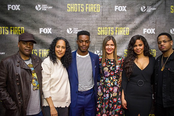 """This is a ten-hour movie. That's important for the audience to understand,"" stated ""Shots Fired"" creators, husband and wife, Gina ..."