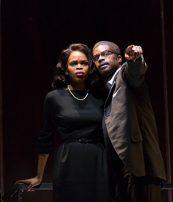 The assassinations of Rome's great ruler of the republic and of revolutionary leader Malcolm X take to the stage when ...