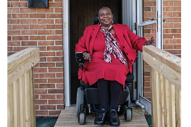 Cora J. Dickerson says that GRTC's CARE van service is an affordable option for her to get from her home in Richmond's Randolph neighborhood to her medical appointments and volunteer meetings, but the unreliable service is frustrating.