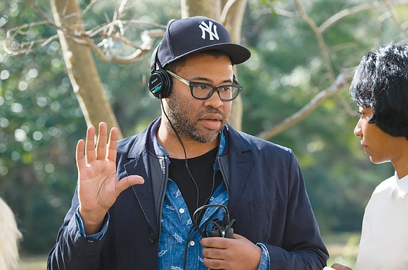 "Jordan Peele's hugely popular debut horror-satire film ""Get Out"" has made box office history. It is the first film by ..."