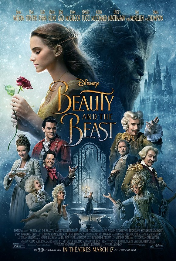 """""""Beauty and the Beast,"""" Disney's live action remake of its beloved 1991 animated film, made $357.1 million at the worldwide ..."""