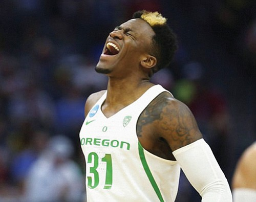 Oregon advanced with a hard-fought NCAA Tournament win in Sacramento, Calif. Sunday as Tyler Dorsey delivered two clutch 3-pointers against ...