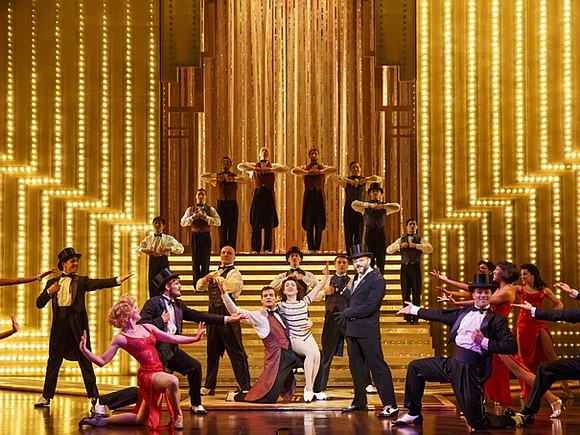 """I've told everyone that """"Paramour"""" is a must-see because it is so original and creative, combining circus acrobatics with romance ..."""