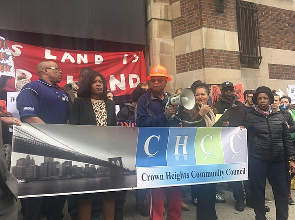 A new report from New York Communities for Change shows that affordable housing units in the Bedford Armory development in ...
