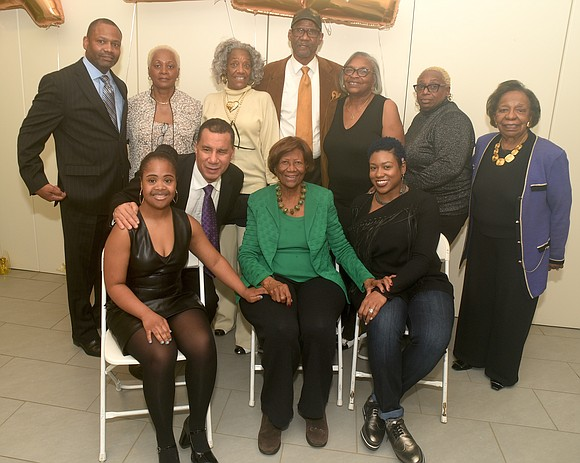 All the big wigs and their friends flocked to the Upper West Side's Society of Ethical Culture to celebrate Hazel ...