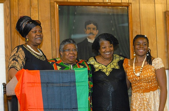 Activist and educator Leola Maddox (second from left), wife of famed attorney and activist Alton Maddox, has died.