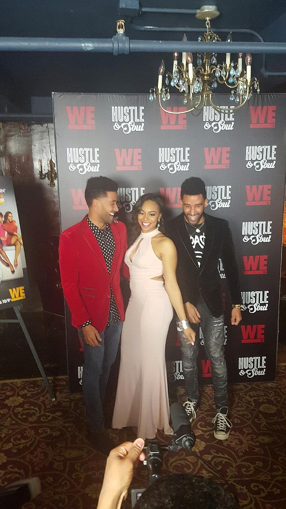 """""""Hustle & Soul,"""" WE tv's new docuseries, is stirring up drama Thursday nights. The show's recent red carpet reception at ..."""
