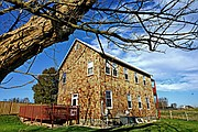 Hosanna School Museum is a two-story structure that was built in 1867 by the Freedmen's Bureau.