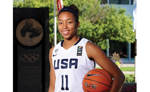 Megan Walker began playing basketball when she was 4 at a local YMCA