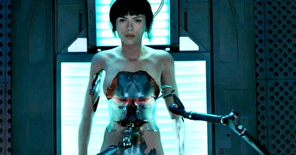 "The film based on Masamune Shirow's cult manga series of the same name, ""Ghost in the Shell,"" has taken big ..."