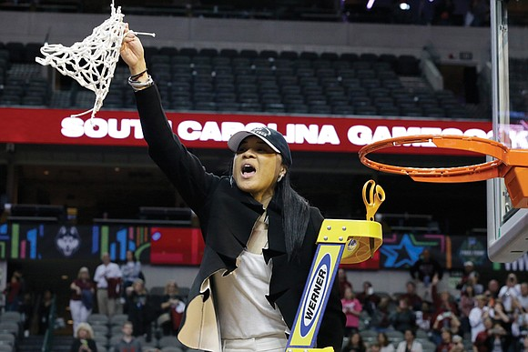 Dawn Staley, who once represented Richmond on the basketball court, ranks with the greatest players in women's hoops history.