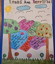 Tree City USA poster winner Dulce Campos' 2nd place entry.