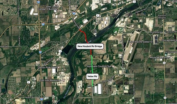 Joliet approved this week preliminary engineering for road improvements along I-80 that will lead to a new Houbolt Road bridge ...