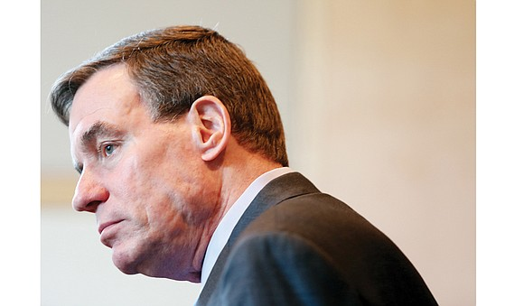 Special to the Richmond Free Press U.S. Sen. Mark Warner of Virginia is in a high-profile position this spring as ...