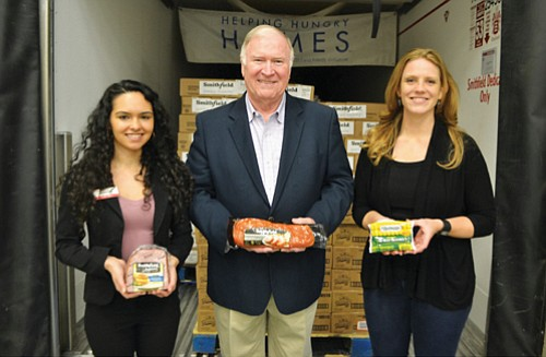 Focused on alleviating hunger and helping people become more food secure, Smithfield Foods joined forces with Fred Meyer to donate ...