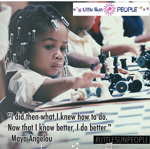 Mama Fela Barclift, founder and director of Little Sun People preschool and day care center (1360 Fulton St. in Brooklyn), ...