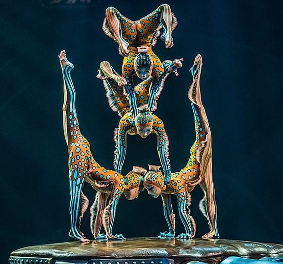 """Cirque De Soleil has not only taken over the idea of the """"big top"""" with its extravagant exhibitions of artistry, ..."""