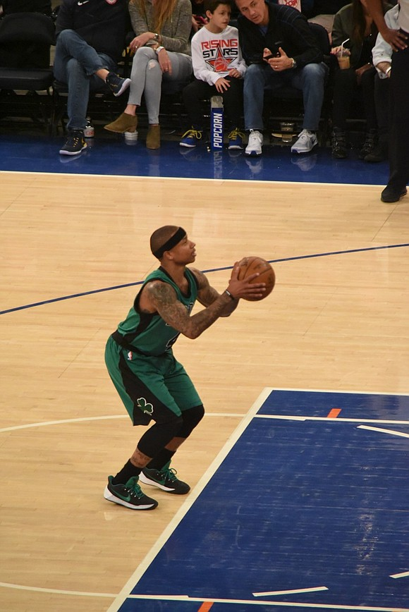 Isaiah Thomas may be one of the smallest players in the NBA, yet no one has a bigger heart. Still ...