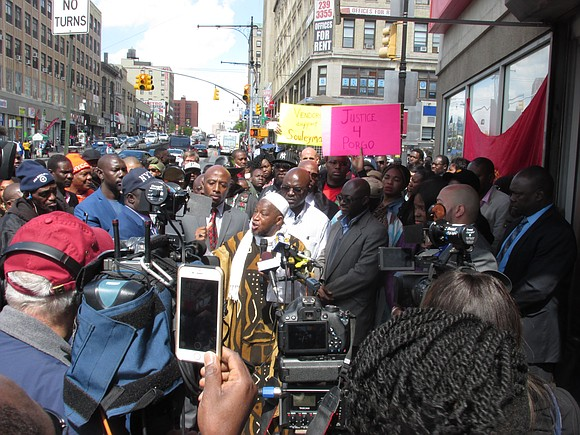 Community leaders, elected officials and advocates in the South Bronx sent a stern message to police as well as the ...