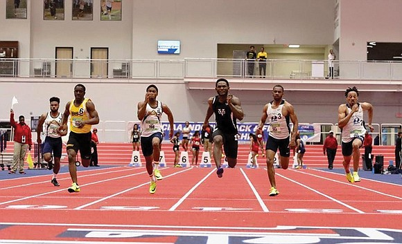 Virginia Union University's Justin Hunter excels with body and mind.