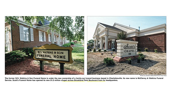 They may deal with death, but two venerable, African-American-owned funeral homes in North Side are getting new life. The former ...