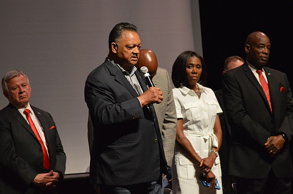 When he looked out into the seats of Bolingbrook High School's auditorium, the Reverend Jesse L. Jackson Sr., Founder and ...
