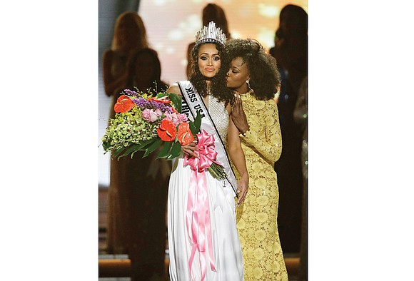 Miss District of Columbia USA Kara McCullough was named Miss USA 2017 during the annual pageant held Sunday in Las ...