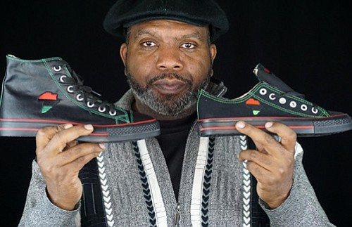 Black-owned sneaker company aims to put