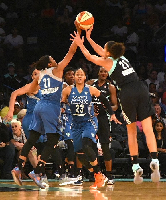 Up against the Minnesota Lynx, three-time WNBA Champions, the New York Liberty's lack of cohesion coupled with an ailing Tina ...