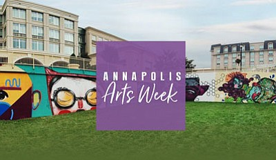Annapolis' arts scene will be front and center during Annapolis Arts Week, June 3-11, 2017.