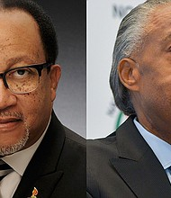Dr. Benjamin F. Chavis Jr., of the National Newspaper Publishers Association (left) and Reverend Al Sharpton of the National Action Network are concerned about the proposed nationwide ban on menthol cigarettes.