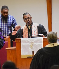 The Rev. Jermaine Marshall