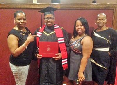Jasmine Jwanita Alston earned her Associate of Arts Degree in General Studies.