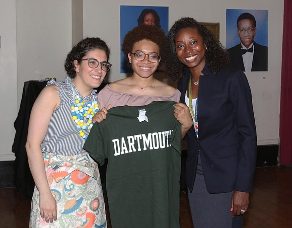 One-hundred percent of the graduates from Uncommon Collegiate Charter High School (832 Marcy Ave.), in Bedford-Stuyvesant are set to go ...