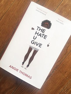 Angie Thomas' The Hate U Give is a young adult novel that fully speaks to the sense of confusion, rage ...