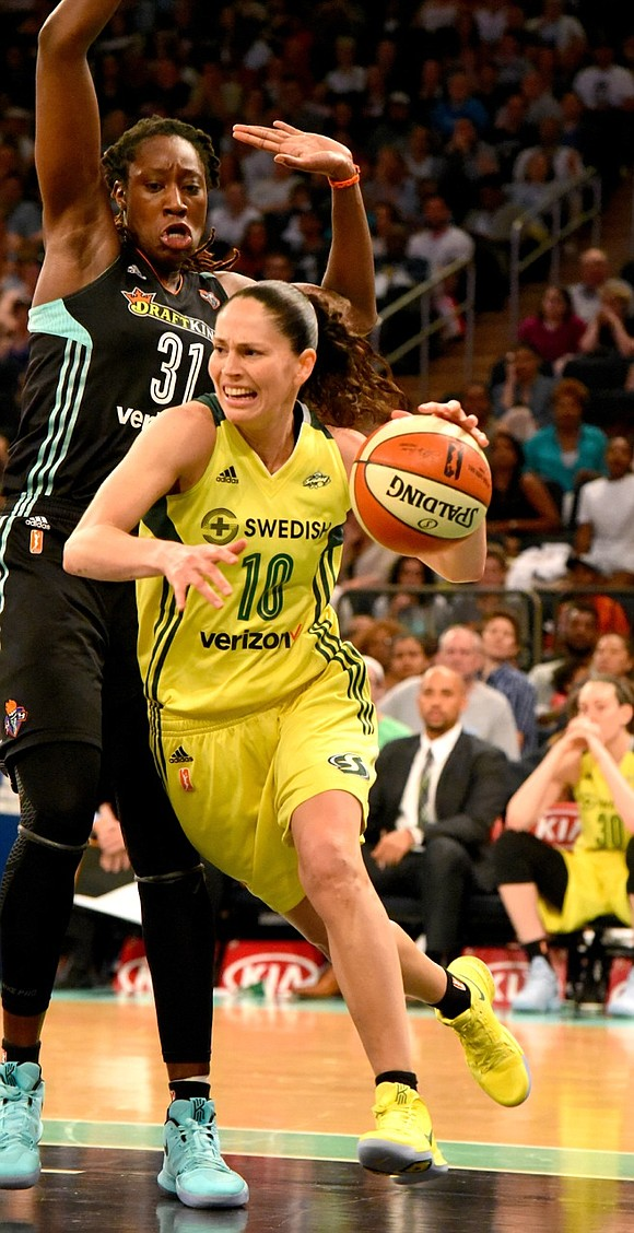 The New York Liberty came out explosive against the Seattle Storm, but Sunday's 94-86 win proved no easy romp.