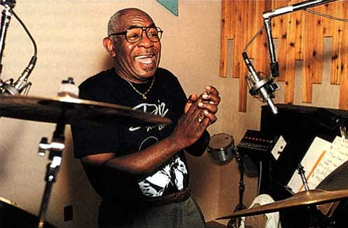 The drummer Mickey Roker, whose distinctive groove placed him on the first-call list for such musicians as Sonny Rollins, Horace ...