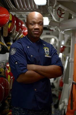 A Houston, Texas native and 2008 Booker T. Washington High School graduate, Petty Officer 2nd Class Larnell Smith is serving ...