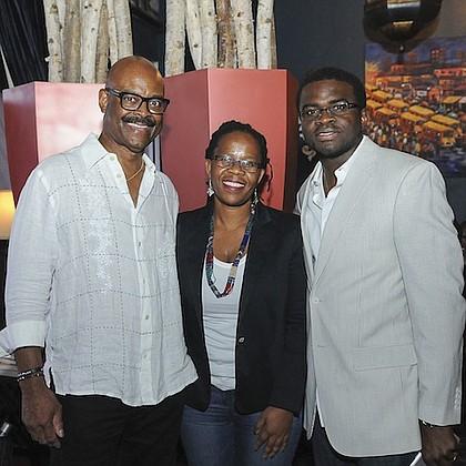 Wayne Luckett, Ntsiki Biyela, and Laolu Davies
