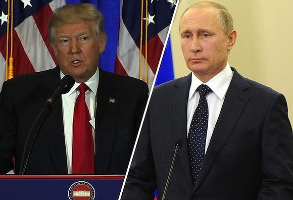 President Donald Trump and Russian President Vladimir Putin discussed the possibility of meeting at the White House during a phone ...