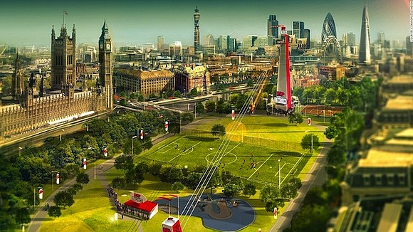 ondon thrill-seekers will soon be able to see the city's famous skyline from a whole new angle -- thanks to ...